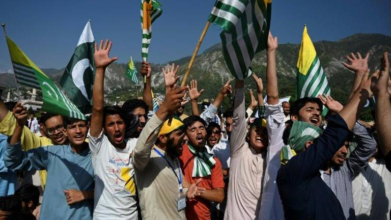 Pakistan slams India over Kashmir remarks