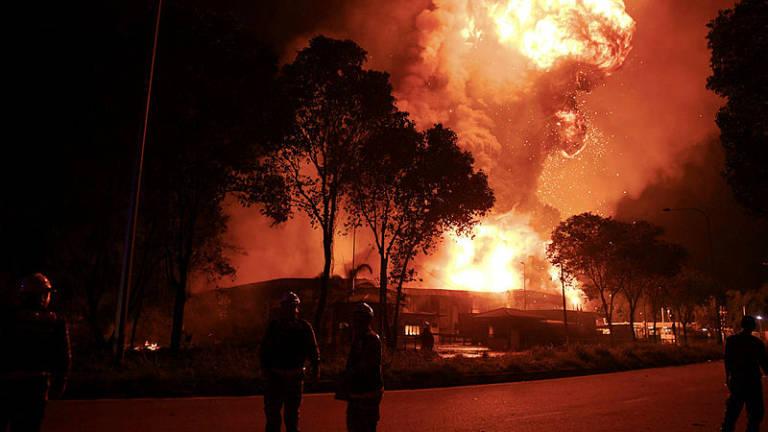 Third blaze in three months razes Pulau Indah chemical plant