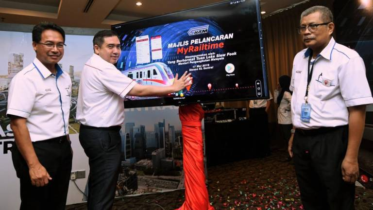 KTMB launches MyRailtime app for commuters' convenience