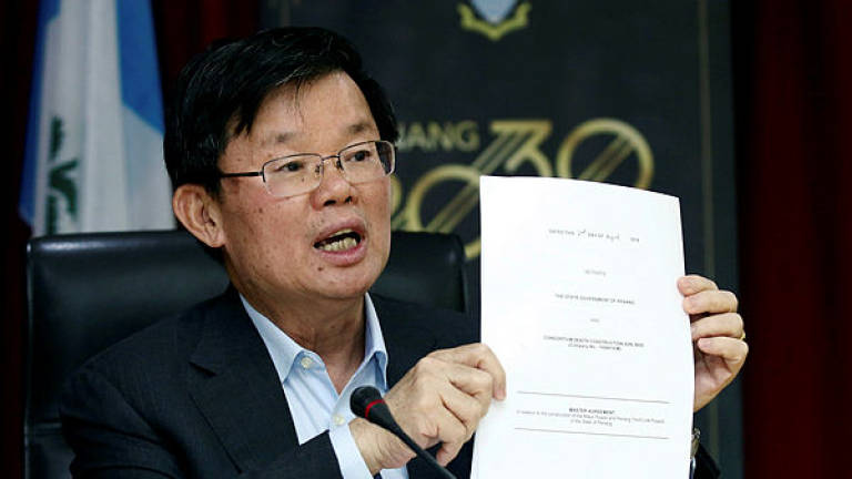 Penang to issue bonds to fund state LRT project