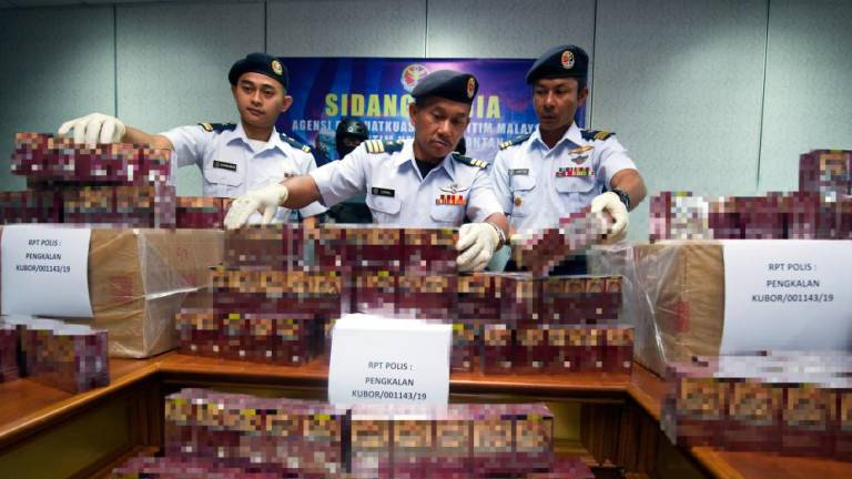 Kelantan MMEA thwarts attempt to smuggle in cigarettes