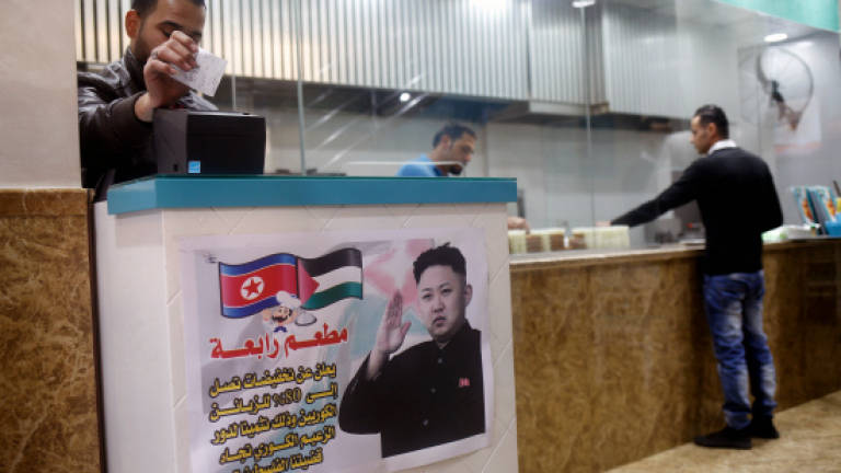 Gaza restaurant offers N. Koreans discount in gesture to Kim
