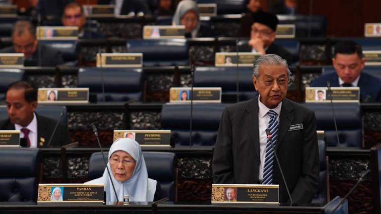Tun M comments on NEP and Vision 2020 shortcomings
