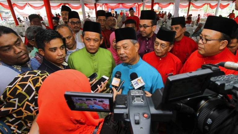 Disputes between PKR, Bersatu leaders are individual views: Muhyiddin
