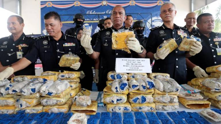 Police seize drugs worth over RM10m in Pasir Mas