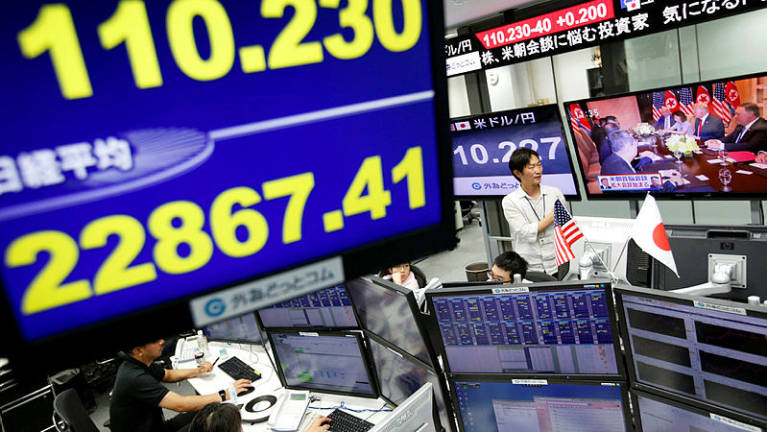 Tokyo stocks open lower after Wall St losses