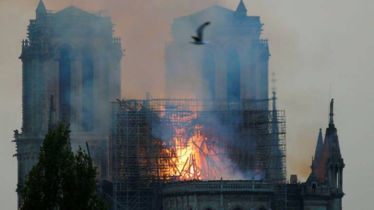 (Video) 'Paris is disfigured': Tears and shock as Notre-Dame burns