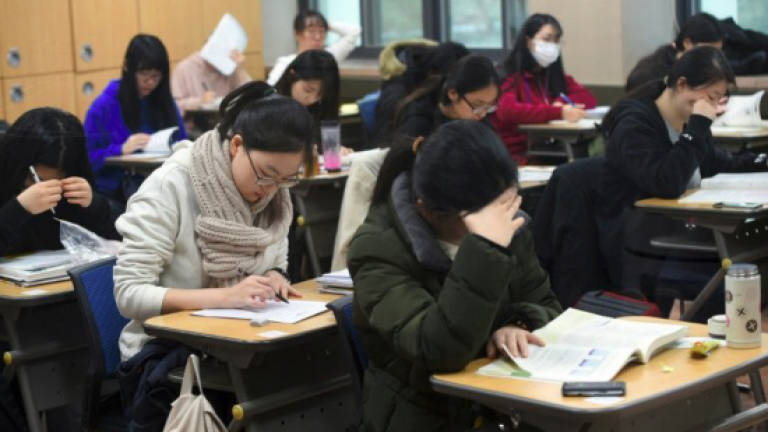 14bb490eb2cc South Korea quiet for quake-delayed college entrance exam