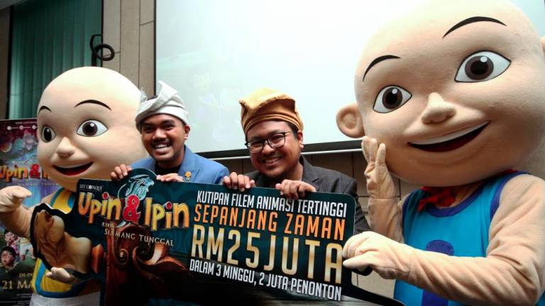 Upin & Ipin listed for Oscars nomination