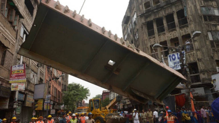 Fourth arrest over deadly India flyover collapse
