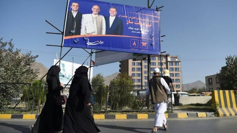 Afghan election back in spotlight after Trump's Taliban tweets