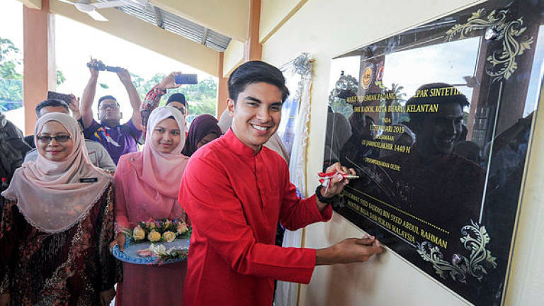 Kelantan getting over RM20 million to develop sports infrastructure: Syed Saddiq