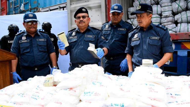 Customs busts drug trafficking syndicate, seizes RM5m worth of ketamine