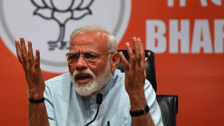 Modi slams Gandhi assassin comments ahead of India's key final vote