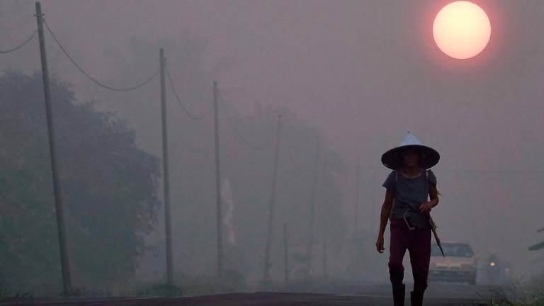 Haze: Air quality in Sri Aman remains hazardous