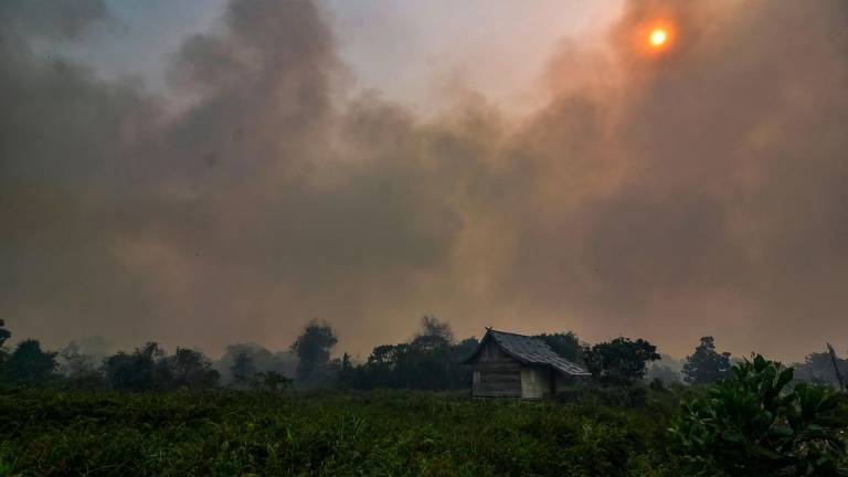Air quality in Sarawak's Sri Aman hits hazardous level of 362
