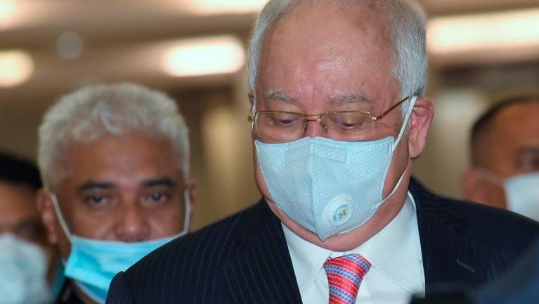Najib withdraws review bid on lifting of stay on SRC trial
