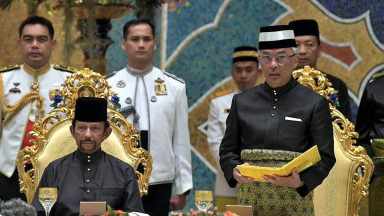 Brunei Sultan confident Agong's reign will be one of success