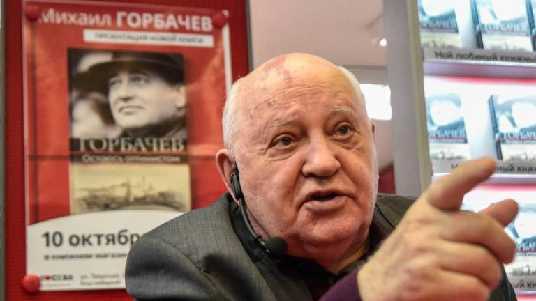 Gorbachev slams Washington over arms treaty exit