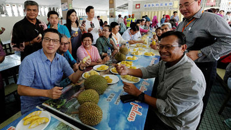 Ministry hopes to export fresh durians to China within one year