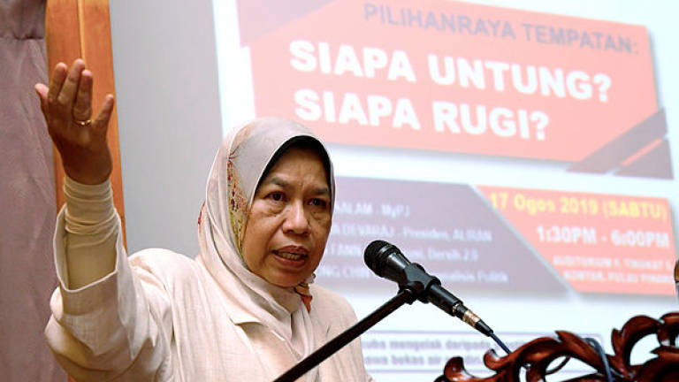 Three years needed to prepare local council election's working paper: Zuraida