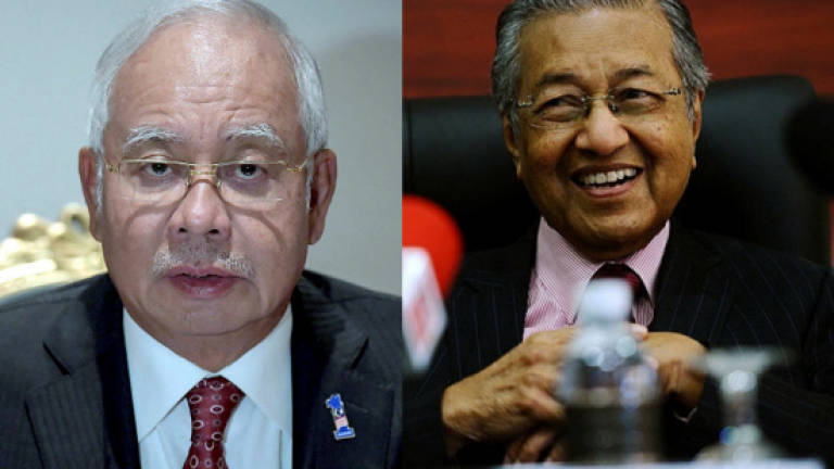 Let's have a debate, Tun M challenges Najib