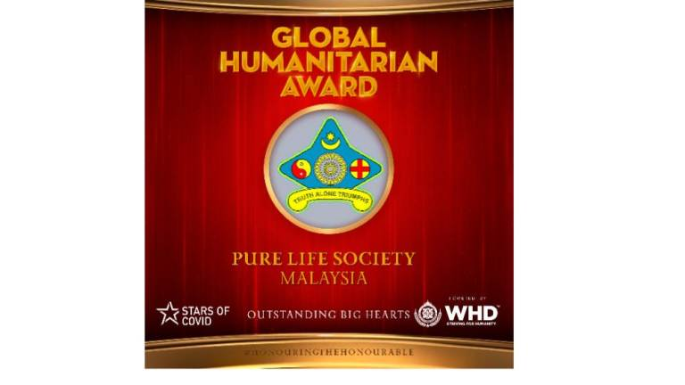 Pure Life Society scoops charity award