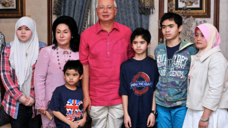 Najib thanks Sweden for facilitating children's return