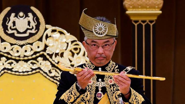 Yang di-Pertuan Agong: No need to declare emergency (Updated)