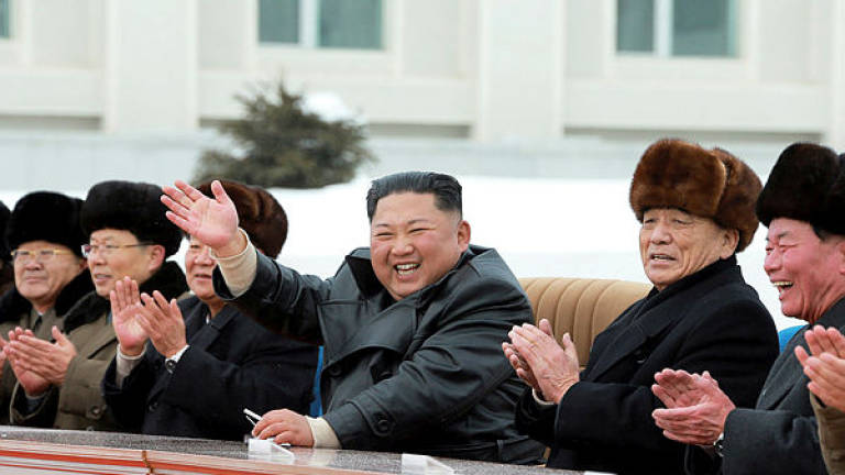 N.Korea's Kim celebrates completion of 'modern mountainous city'