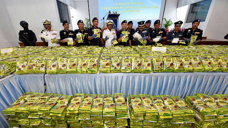 Cops seize 2.06 tonnes of syabu worth RM103.2m in biggest bust ever