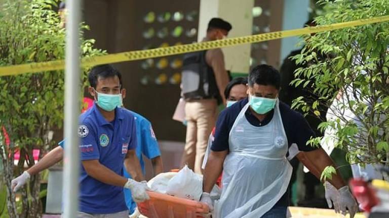 Thai security forces kill two linked to deadly shooting at school