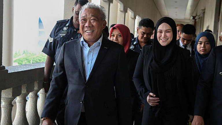 It's the Sessions Court for Bung Moktar, Zizie Izette corruption cases