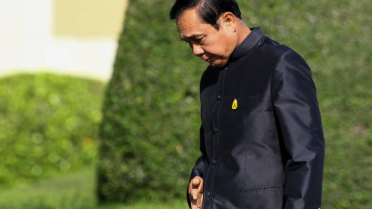 Thai junta chief hits back at web censorship critics
