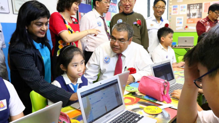 Penang gets its first 'Frog Classroom'