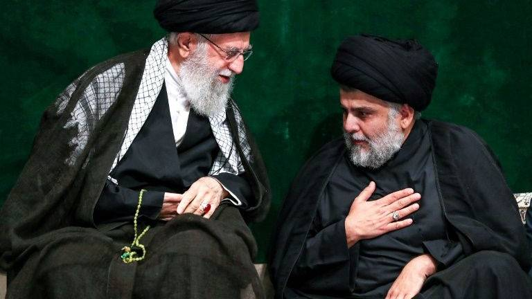 Iraqi cleric Sadr joins supreme leader at Iran ceremony