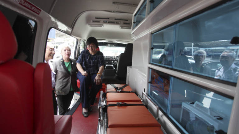 Pudu Rotary Club donates two ambulances to St John Ambulance Malaysia