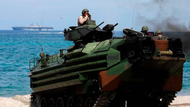 Eight still missing after US Marine amphibious vehicle sinks
