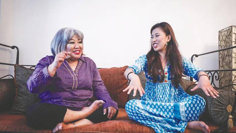 The softer side of Siti Kasim
