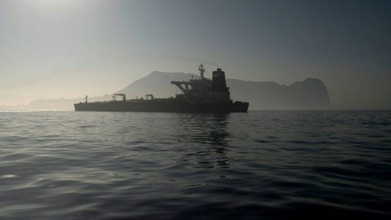 Iran says tanker freed by Gibraltar poised to set sail
