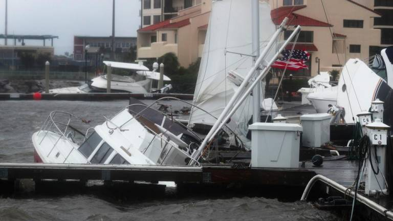 Sally drenches U.S South East after hitting Gulf Coast as hurricane