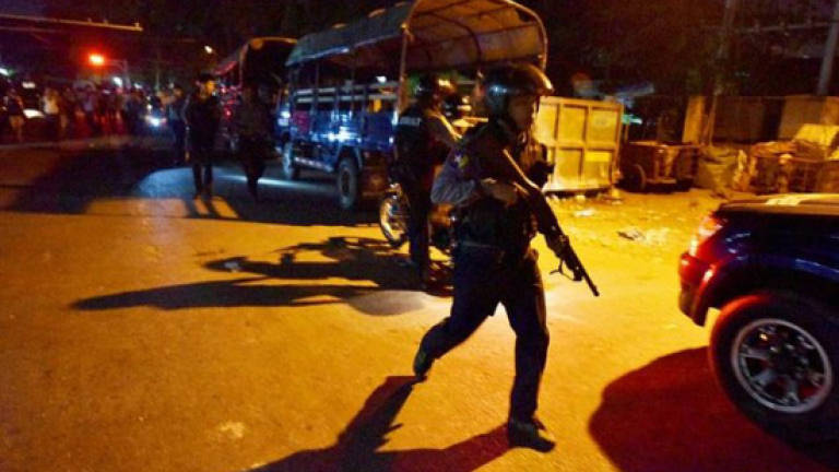 Police fire shots to break up Myanmar nationalist, Muslim scuffle