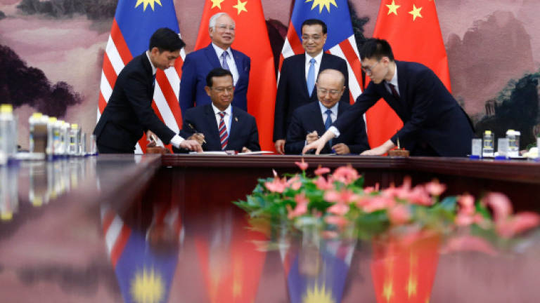 MoUs for RM31b investments signed in China