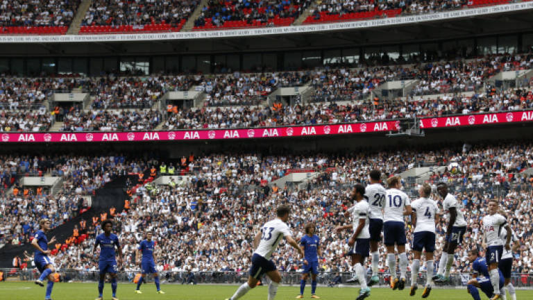 Spurs fight to end Wembley woe