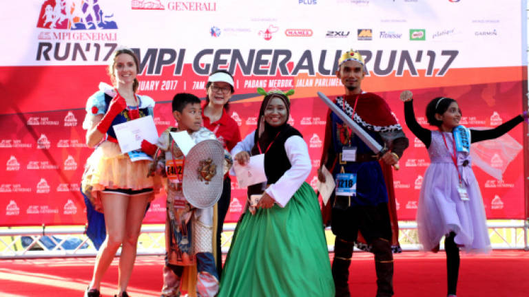 Getting healthier together at MPI Generali Run 2017