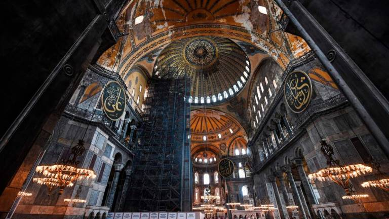 US 'disappointed' by Turkey mosque move on Hagia Sophia