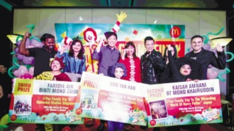 McDonald's invites entries to its storytelling contest
