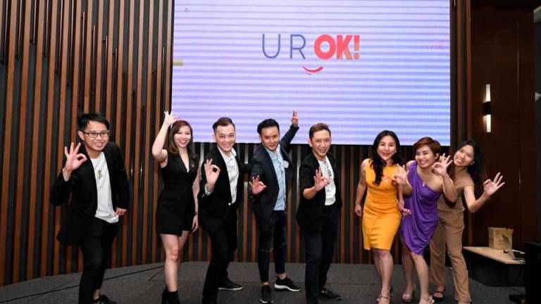 U R OK! a brand that communicates and connects through its tagline