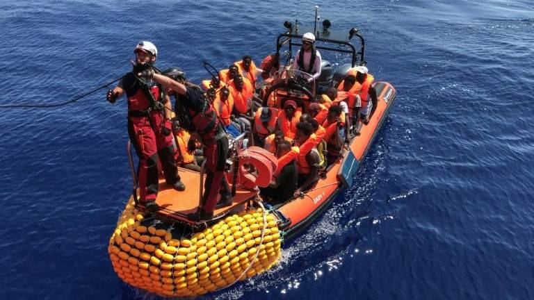 Over 350 migrants aboard charity ship after new rescue in Med