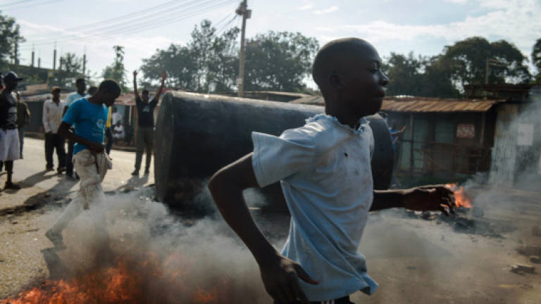 Two shot dead as protests erupt over disputed Kenya poll
